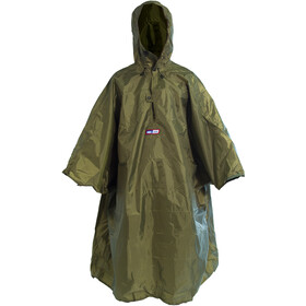 Helsport Poncho, green